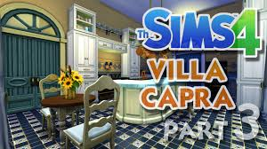 Sims 3 Kitchen Ideas by The Sims 4 House Building Villa Capra Part 3 Kitchen And