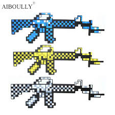 aliexpress buy 3 color 62 5x20 5cm minecraft toys minecraft