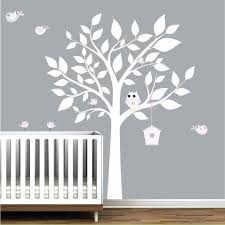 scroll tree wall decal stickers nursery decor gutesleben