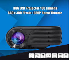 home theater projector under 1000 h86 lcd led projector 1000 lumens 640 x 480 pixels 1080p max 1920