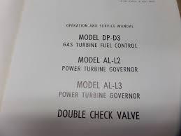 bendix dp d3 turbine fuel control al l2 al l3 governor operation