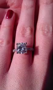 2 carat cushion cut engagement ring my beautiful 2 carat cushion cut engagement ring weddingbee
