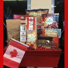 gift baskets canada canadian themed care package gift basket ideas and christmas