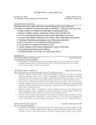 Visual Merchandising Resume Sle merchandising resumes pertamini co