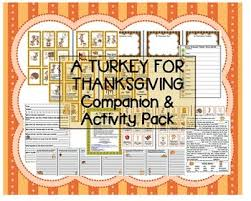 a turkey for thanksgiving bunting companion pack
