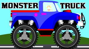 monster truck for children cartoon monster trucks stunts garbage truck kids videos transport
