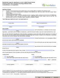 free florida residential lease agreement template u2013 pdf u2013 word