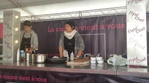 blogueuse cuisine festival aoc démonstration d une blogueuse culinaire