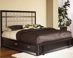 queen bed frame with drawers and headboard genwitch intended for