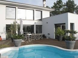 chambres d hotes lege cap ferret villa contemporaine style loft avec piscine et jardin lege cap