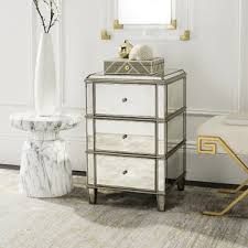 Stainless Steel Nightstand Metal Nightstands You U0027ll Love Wayfair