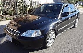 2000 honda civic hatchback sale 2000 honda civic for sale los angeles lx 4dr black comes with warranty
