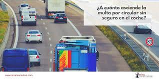 cuanto es la multa por no presentar la declaracion jurada 2015 a cuánto asciende la multa por circular sin seguro en el coche