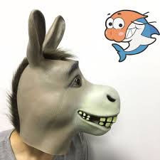 aliexpress com buy 2017 new party cosplay scary latex donkey