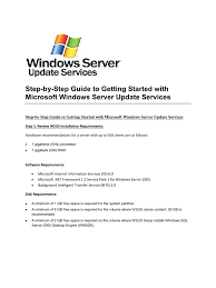 wsus interview group policy windows server 2003