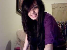 long hair styles with swoop bangs black hair pretty long hairstyles with side swept bangs and layers new
