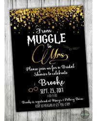 custom bridal shower invitations new shopping special custom harry potter bridal shower invitation