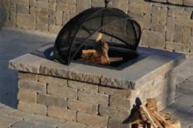 Stone Fire Pit Kit by Fire Pits