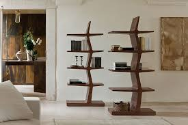 Modern Bookcases 5 Trendy Modern Bookshelves That Unleash Warmth Of Wood