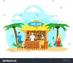mixed drink clipart cartoon surf beach bar cocktail drink stock vector 704095732
