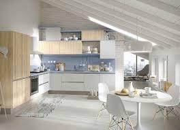 cuisines blanches et bois cuisine blanc et bois archaque foire cuisine blanc laqu cuisine