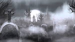halloween graveyard background graveyard animation youtube