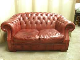 Chesterfield Sofa Used Leather Chesterfield Sofa Vintage Craigslist Bed Uk Set