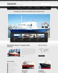 web templates website templates directory listing website theme shipping company website template look at them and you won u0027t