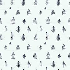 cute trees simple cartoon seamless patterns with cute trees stock vector art