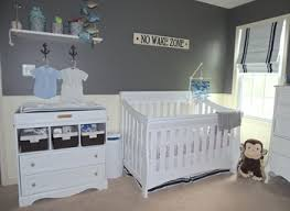 outdoor themed nursery room tour gray house studio sustainable