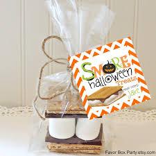 Halloween Teacher Gifts by Teacher S U0027mores Favors S U0027mores Kit S U0027mores Party Favors Teacher