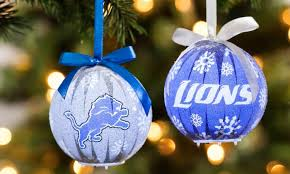 nfl 6 pack led ornaments groupon
