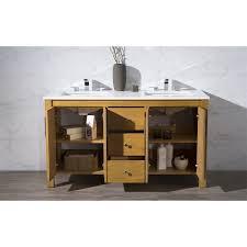 Bathroom Vanity Tops by Stufurhome Ty 7585 59 Qz Windsor 59 Double Sink Bathroom Vanity In