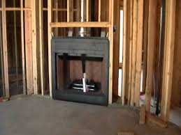 How To Build An Interior Wall Building Process 29 Fireplace Installation Youtube