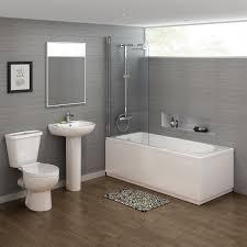 1600mm crosby straight bath suite soak com clipgoo