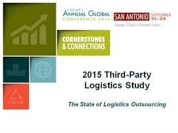 3pl Study The State 2014 Cscmp Presentation Of The 2015 3pl Study