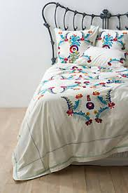 Anthropologie Duvet Covers Mexican Embroidered Bedspread Google Search Bedroom Ideas
