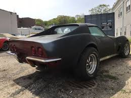 cheap corvette 1970 corvette 4 speed coupe t top chrome bumper car project car
