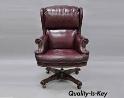 Desk Chair Comfortable Leather Office Chair Etsy