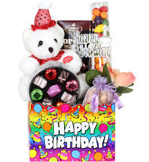 birthday baskets happy birthday teddy gift basket happy birthday gifts