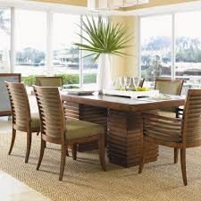 tommy bahama dining table tommy bahama home ocean club 7 piece peninsula dining table