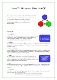 exles of effective resumes effective resume cover letter