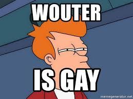 Create Fry Meme - wouter is gay futurama fry meme generator