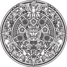 mandala inspired by inca and aztec from the gallery