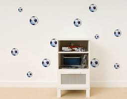 fun4walls wall stickers football amazon co uk kitchen u0026 home
