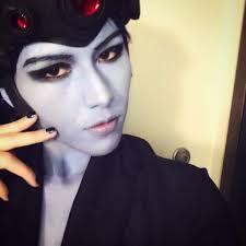 halloween crystal ball with head formal widowmaker cosplay amino