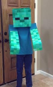 Steve Halloween Costume Easy Minecraft Creeper Costume U0027s Comfy Wear Creeper