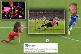 Footy Memes - the best memes from the world of football as donald trump wins