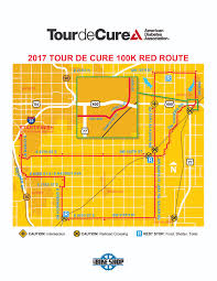 Map Of Wichita Ks American Diabetes Association 2017 Tour De Cure Wichita