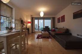 modern 1 bed apartment with terrace silicone docks dublin